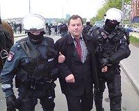 Pasibaigus gėjų eitynėms, suimtas Seimo narys Kazimieras Uoka