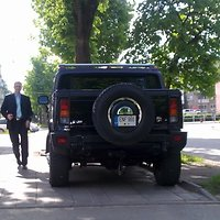Parlamentaras A.Šedžius ir jo automobilis