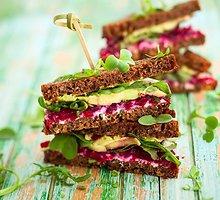 Dietiniai vegetariški sumuštiniai