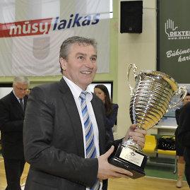 Lietuvos studentų krepšinio lygos prezidentas Rimantas Cibauskas