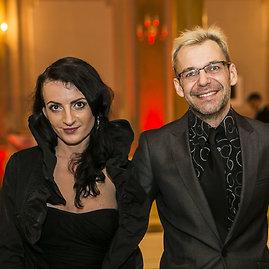 Viganto Ovadnevo/Žmonės.lt nuotr./Aras Vėberis ir Martyna Kerbedytė