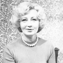 """LTV archyvo nuotrauka/Gražina Bigelytė (1938–2009). Draugų prisiminimai: """"Ji buvo išskirtinė asmenybė"""""""