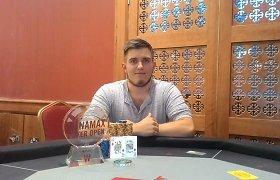 """WPO Dublino """"High Roller"""" turnyre Dominykas Mikolaitis iškovojo 25 tūkstančius eurų"""