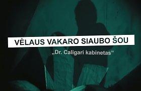 """Kultinė kino klasika: """"Dr.Caligari kabinetas"""""""