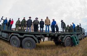 Lietuvos kariuomenei perduoti nauji Vokietijos gamintojo sunkvežimiai UNIMOG