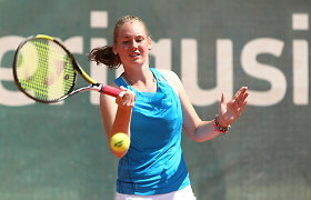 Paulina Bakaitė pateko į ketvirtfinalį teniso turnyre Japonijoje