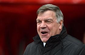 Skandalas Anglijos rinktinėje – treneris S.Allardyce'as parsidavinėjo verslininkams