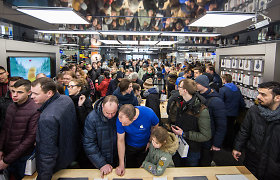 """""""Apple shop"""" per pusdienį aplenkė """"Topo centro"""" tinklo mėnesio pardavimus"""
