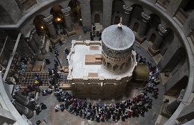 Jėzaus kapo restauravimas baigtas – jį vėl gali aplankyti paprasti mirtingieji