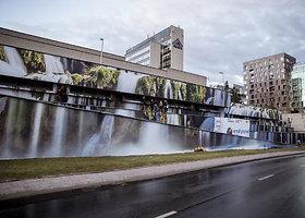 """""""Juozapavičiaus krioklio"""", kurį sukūrė architektas Ignas Lukauskas pristatymas"""