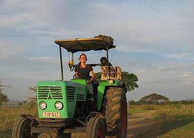 Manon Ossevoort – olandė, traktoriumi nukeliavusi iki Pietų ašigalio