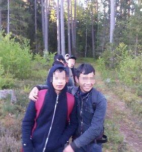Trakų rajono miške – 10 vietnamiečių