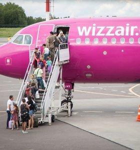 """""""Wizz Air"""" 2017 m. vasaros skrydžių iš Lietuvos tvarkaraštis"""