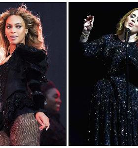 """Paskelbtos """"Grammy"""" nominacijos: didžiosios varžybos vyks tarp Adele ir Beyonce"""