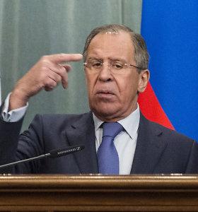 """Sergejus Lavrovas atsisakė atsiprašyti už Malaizijos """"Boeing"""" žūtį"""