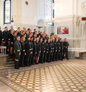 Pagausėjo Kauno apskrities policijos pajėgos – darbą pradėjo 41 naujas pareigūnas
