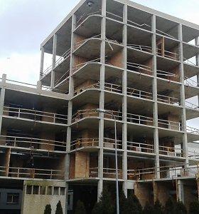 Dėl įmantrių langų užstrigo Respublikinės Klaipėdos ligoninės statybos