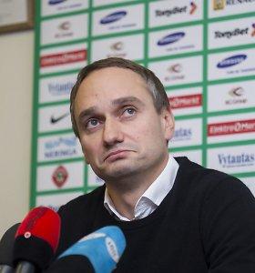 Buvęs LKF generalinis sekretorius Mindaugas Balčiūnas teisme kaltės nepripažino