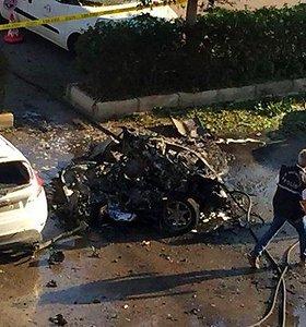 Sprogimas Turkijos Antalijos kurorte: nukentėjo 10 žmonių