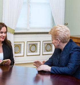 Prezidentė paskyrė Mildą Vainiutę teisingumo ministre