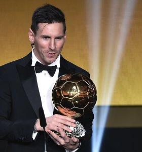 """Skilimas: FIFA netenka teisių į """"Auksinio kamuolio"""" prizą"""