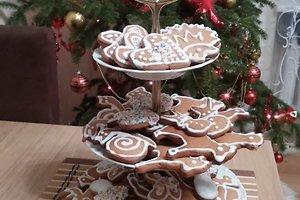 Karolinos K. kalėdinė dekoracija