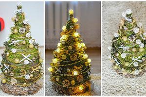 Sandros L. (Kaišiadorių raj.) kalėdinė dekoracija