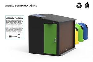 Giedrius Žerlauskas: Komunalinių atliekų surinkimo taškas urbanistinėje aplinkoje