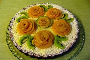 "Moliūginis pyragas su ""Panna cotta"" (Reginos R. receptas)"