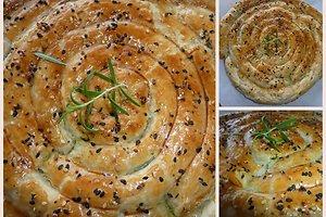 Pyragas su špinatais (Helenos J. receptas)