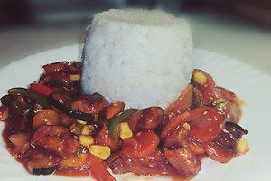 Vištiena kiniškai (Livetos P. receptas)