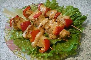 Vištienos filė vėrinukai (Jolantos M. receptas)