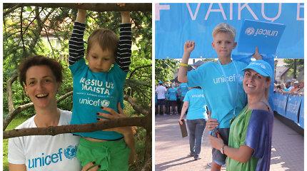 UNICEF vaikų bėgimo ambasadorių patirtys: net ir mažiausia pagalba padeda nuversti kalnus