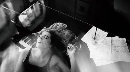 Alberto Pocejaus fotoprojektas: įamžino moters orgazmo akimirką