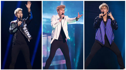 """Donatas Montvydas """"Eurovizijos"""" scenoje pristatė tris skirtingus įvaizdžius: kuris geriausias?"""