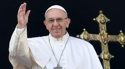 Popiežius Pranciškus balandžio pabaigoje vyks į Egiptą