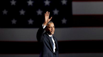 Palikęs Baltuosius rūmus B.Obama rašys knygas, rūpinsis mažumomis ir demokratais