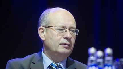 Darbo partijos kandidatas į laisvą Seimo nario vietą – Gediminas Vagnorius