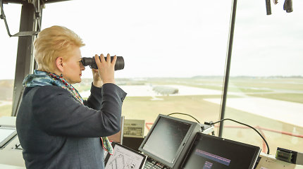 Pentagonas: JAV kariniai lėktuvai skraido virš Baltijos jūros įjungę atsakiklius