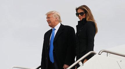 Liko viena diena, Donaldas Trumpas atvyko į Vašingtoną