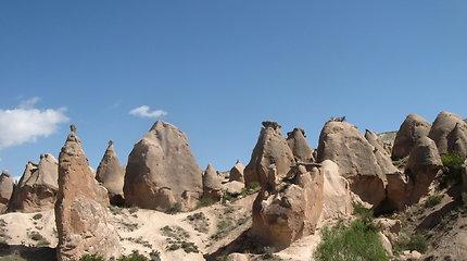 Kapadokijos urvai – mįslės ant žemės ir po žeme