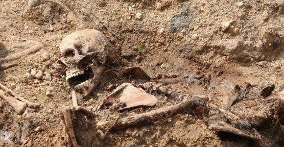 Kaune ekshumuojami vokiečių belaisvių palaikai
