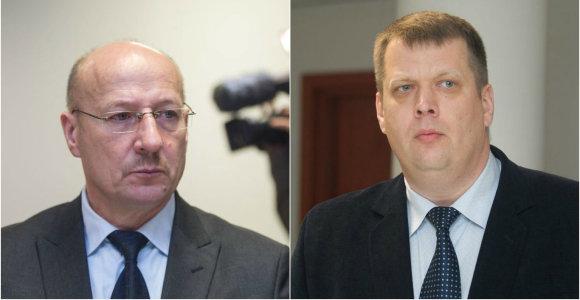 D.Kedžio bendrininkų byloje teismas liudytojais apklausė V.Račkauską ir T.Ulpį