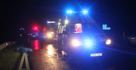 Šiauliuose ugniagesio patrenktas pėsčiasis spruko iš ligoninės