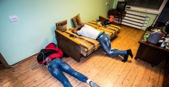 Jaunimo mokslo metų pradžia Vilniaus Lazdynuose – narkotikai, ginklai ir reanimacija