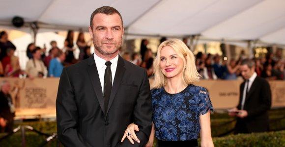 Po 11-os kartu praleistų metų išsiskyrė aktoriai Naomi Watts ir Lievas Schreiberis