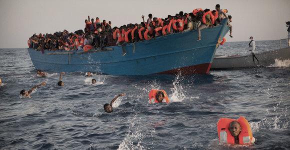 Prie Egipto krantų apvirto migrantų laivas – aukų skaičius perkopė 100