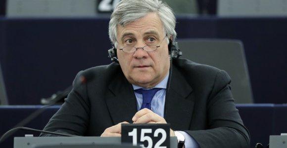 13 faktų apie naująjį EP vadovą A.Tajani – S.Berlusconi bendražygį, kurio vardu ispanai pavadino gatvę