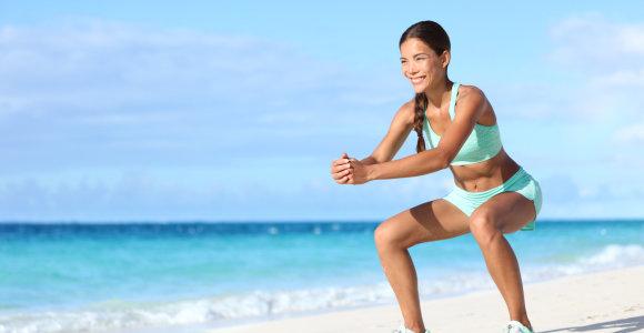 Nutarėte pradėti sportuoti – darykite tai nerizikuodami savo sveikata