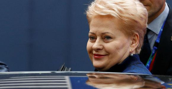"""Naujame """"Politico"""" sąraše D.Grybauskaitė – trylikta tarp svarbiausių žmonių Europoje"""